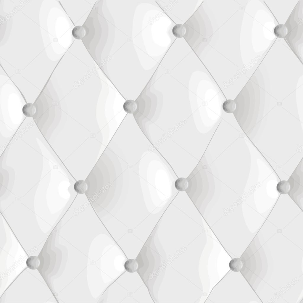 Seamless Texture Quilted Fabric Stock Vector