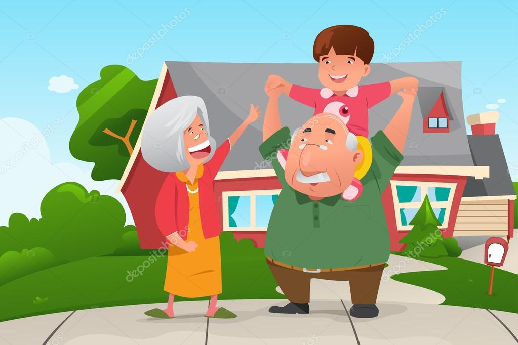 Imágenes: Abuelos Y Nietos Animados