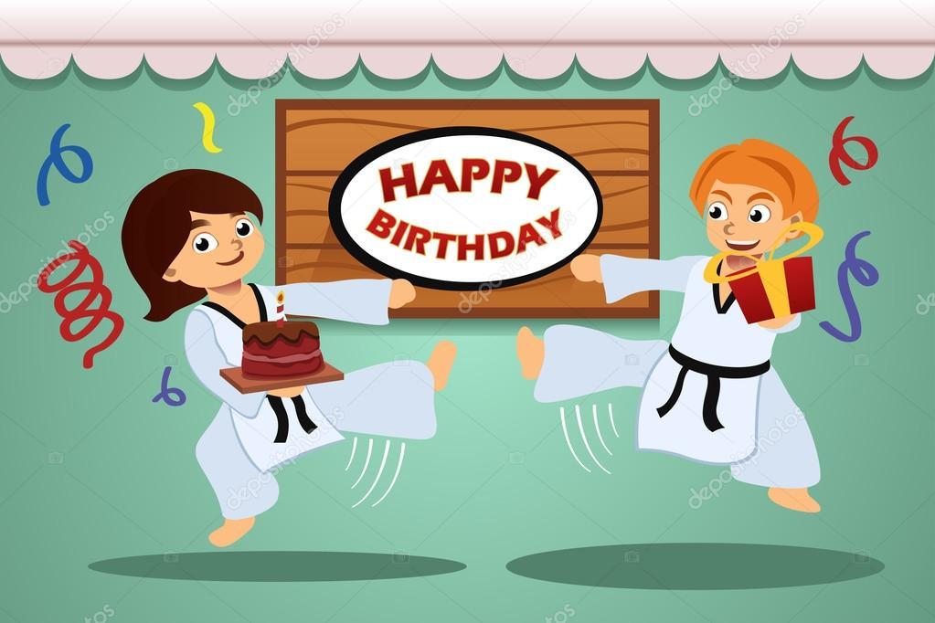 Поздравления с днем рождения тренера по тхэквондо
