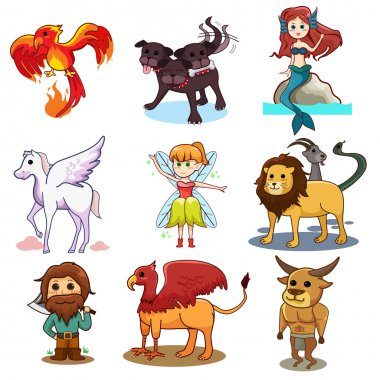 Fairy tale icons