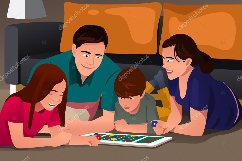 Imagenes Familias Jugando Juegos De Mesa Familia Jugando Un Juego