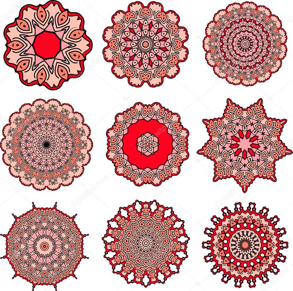 Mandalas De Amor Archivo Imágenes Vectoriales Amekamura 67731619