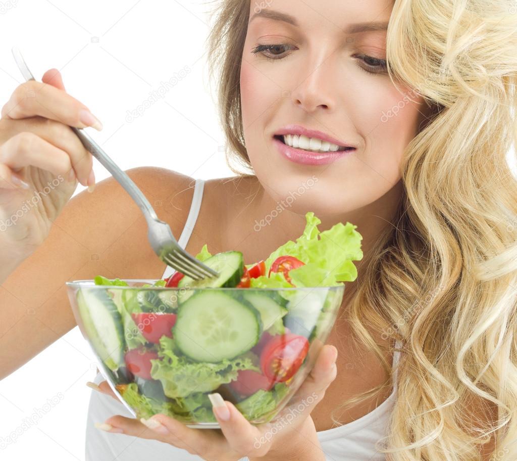 Woman Beauty Healthy Food Stock Photo C Dedukh 74278395