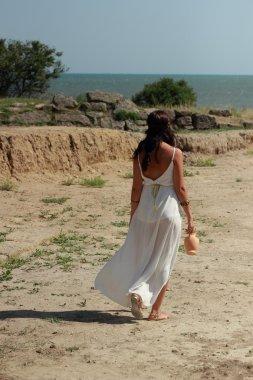 Greek little girl