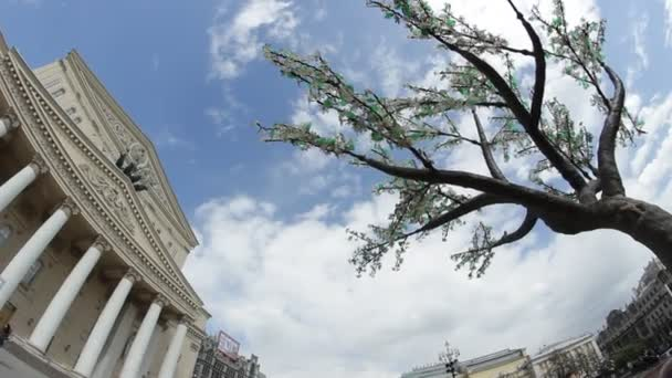 Early spring of the Bolshoi Theater