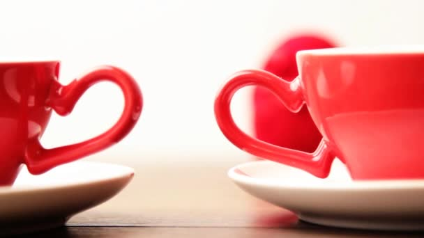 Cups on Valentine Day