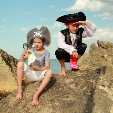 Fancy Dress Pirates on Holiday