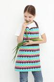 Fényképek Tini lány élelmiszer-téma