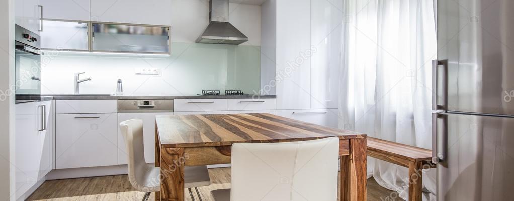 Moderne Küche Innenarchitektur Architektur Lager Bild — Stockfoto ...