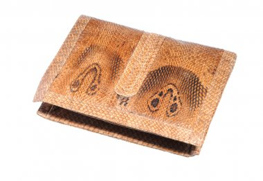 Asian cobra leather wallet - illegal endangered species product