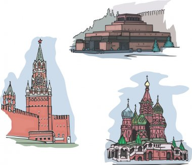 Moscow, Russia, Red Square sights