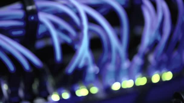 Rack-Schwerpunkt Netzwerk-Ethernet-switch