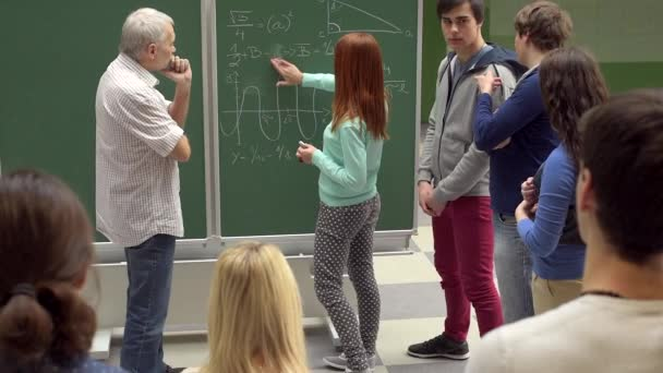University students by school board with teacher