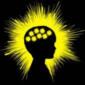 Epilepsie koncept znamení
