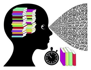 Speed Reading Woman