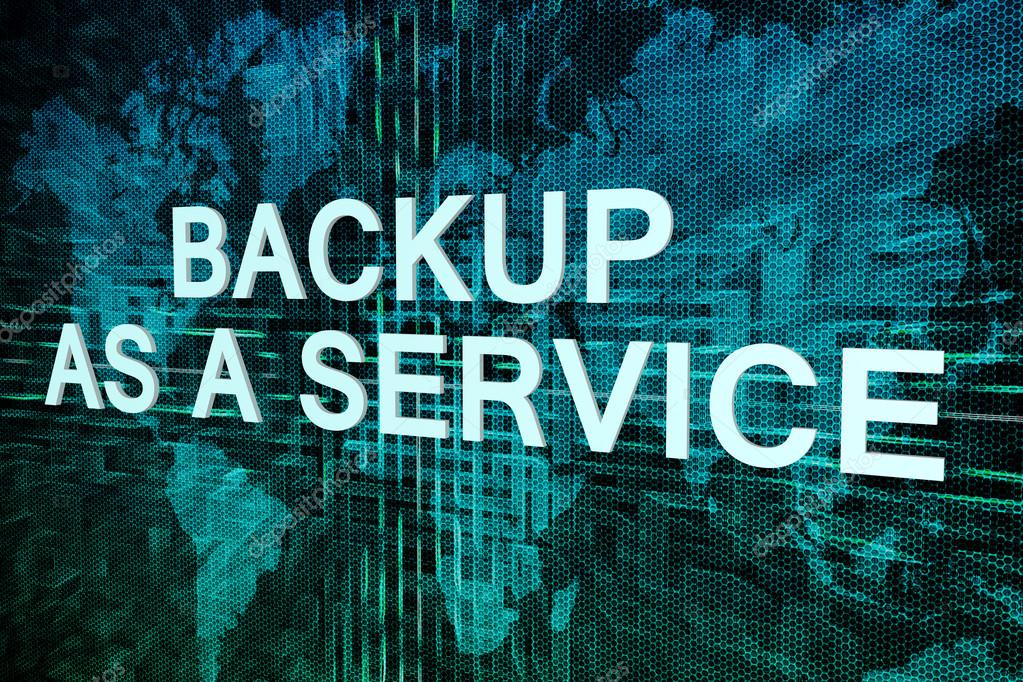 Backup as a service text concept on green digital world map backup as a service text concept on green digital world map background photo by mazirama gumiabroncs Images