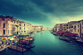 Fotografie Canal Grande in Sonnenuntergang Zeit, Venedig, Italien