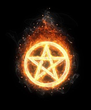 fire pentagram