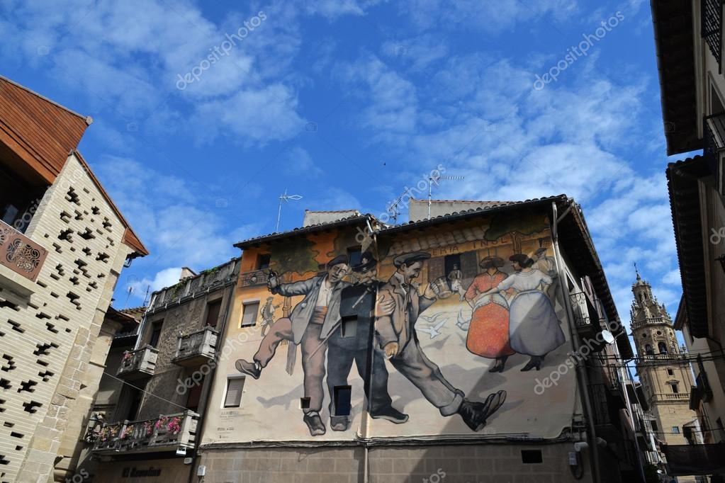 Mural in Haro Spain – Stock Editorial Photo © diabolique04  52772579 1b3cd0a226
