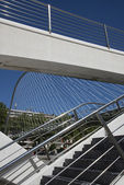 Zubizuri footbridge  in Bilbao