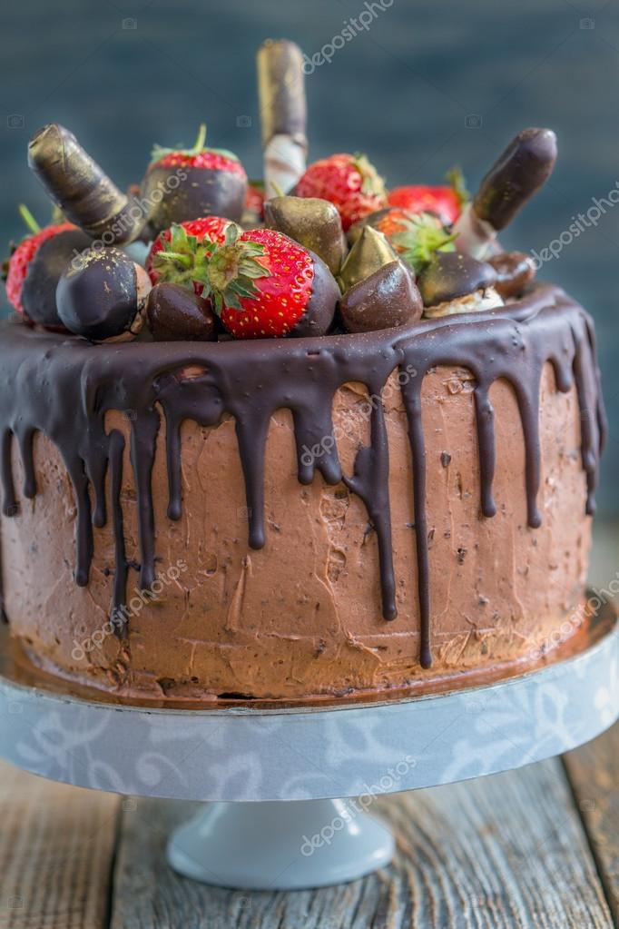 Fotos Pasteles Decorados Con Chocolate Pastel De Chocolate