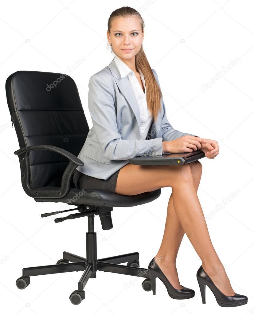 D'affaires BureauMaintenant De Sur Pour Femme La Chaise Fermé YEH2W9ID