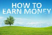 Krajina s slovy, jak vydělat peníze