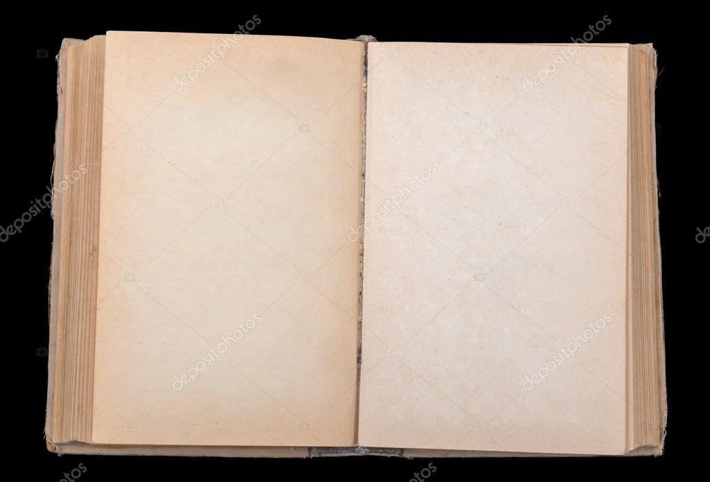 Livro aberto com folhas em branco — Stock Photo © cherezoff #90928888