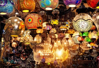 Turkish colorful lamps