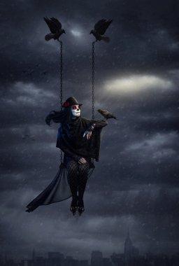 Dark crow queen