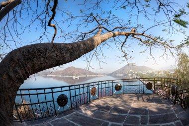 Fateh Sagar lake in India
