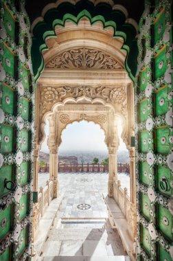 Jaswant Thada memorial door