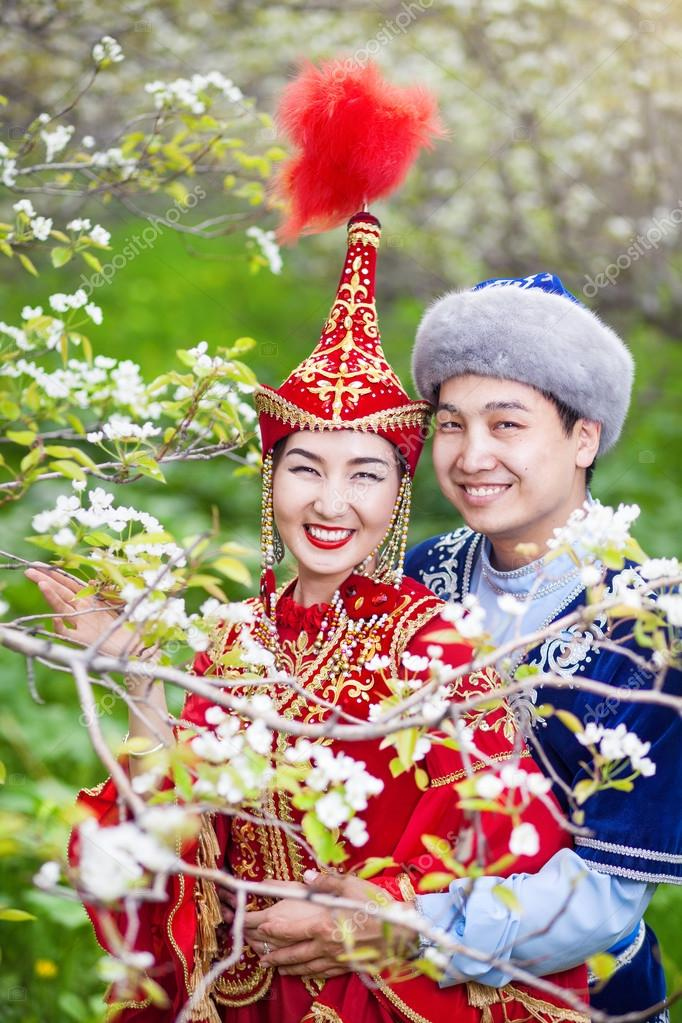 Kazakh love in Spring