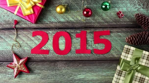 Nový rok kalendář