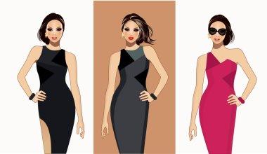 Fashion models-Fashion illustration
