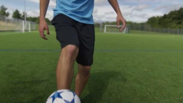 fotbalový hráč míč dovednosti