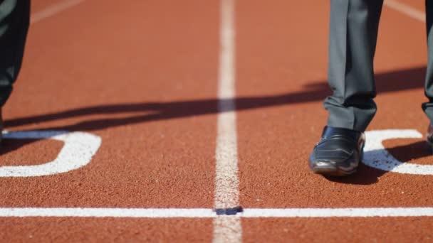 podnikatelé na běžecké trati zarovnat