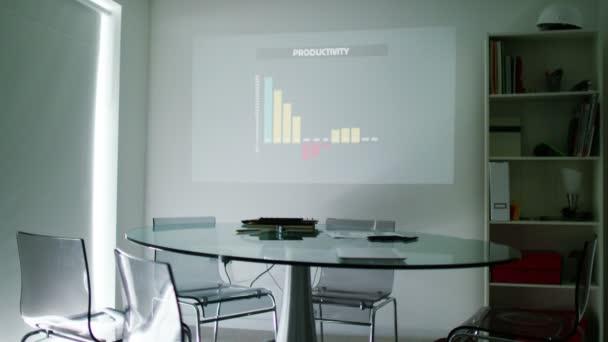 Interior of modern office meeting room