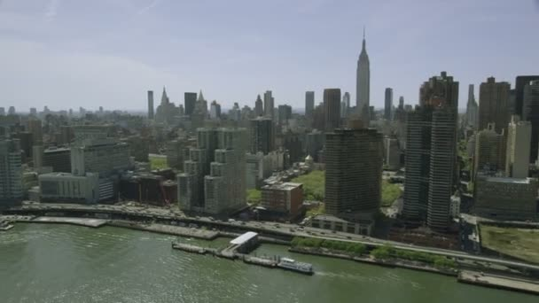 New York City cityscape and skyscrapers