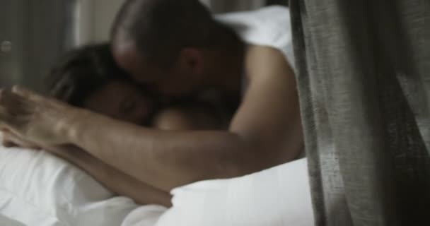 couple making love in the bedroom