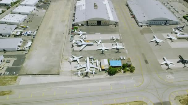 planes and airport buildings