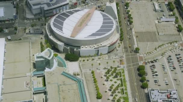 Sešívání Stadium Los Angeles a kancelářských budov včetně Nokia