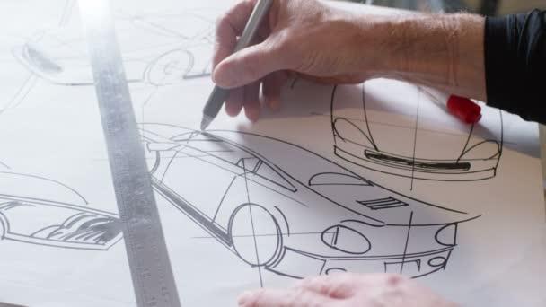 Kezek autóipari rajz rajzok