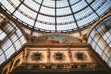 Shopping art gallery in Milan, Italy
