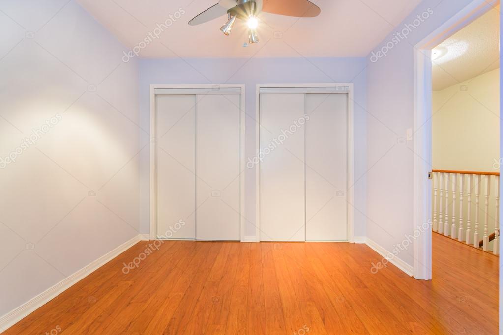 Progettazione di interni camera da letto vuota — Foto Stock ...