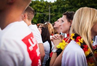 German football fans on Euro 2012