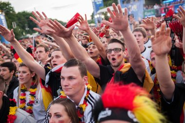 German football fans on Euro 2012