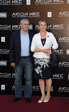 Arina Sharapova with family
