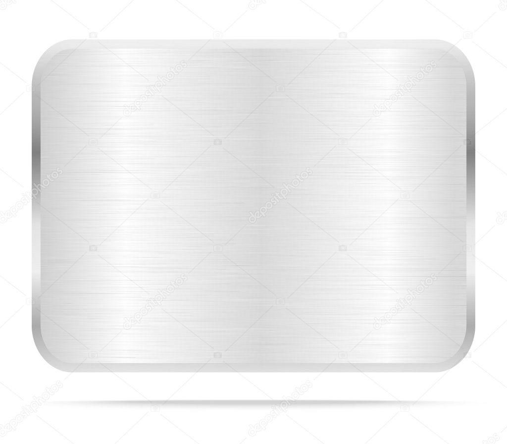 Vector Metal Name Plate Or Metal Labels Stock Photo C Stoonn 67213463