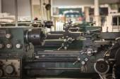 Fotografie Old metal lathe machine